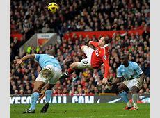 Wayne Rooney bicycle kick goal vs Manchester City YouTube