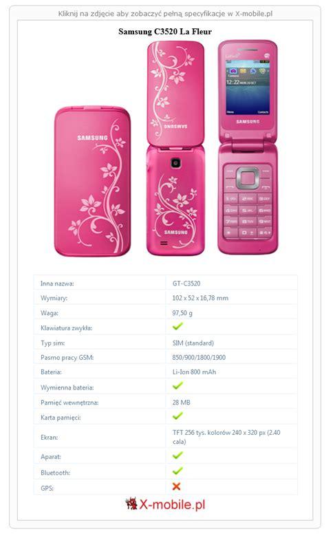 samsung  la fleur galeria telefonu  mobilepl gt