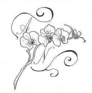 Orchid tattoo by Polaris279 on DeviantArt