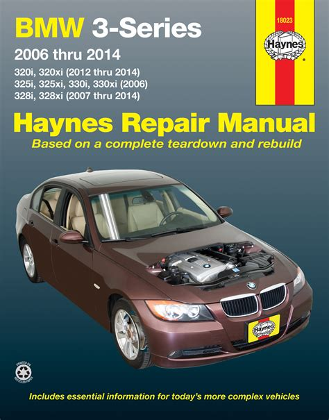 hayes car manuals 2006 bmw 325 engine control bmw 3 series 320i 320xi 2012 2014 325i 325xi 330i 330xi 2006 328i 328xi 2007