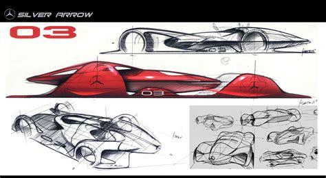 Car Design Concepts : Mercedes Silver Arrow Concept