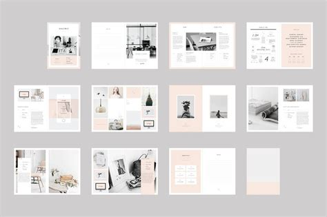 templates de portefolios the newington portfolio template is a 22 page indesign