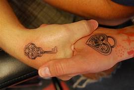 Lock And Key Tattoos Designs  Ideas and Meaning   Tattoos For You  Lock And Key Matching Tattoo Designs