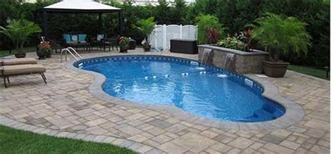 patio island pool and patio home interior design