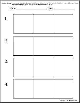 elkonin boxes elkonin boxes 3 box pattern version 2 abcteach