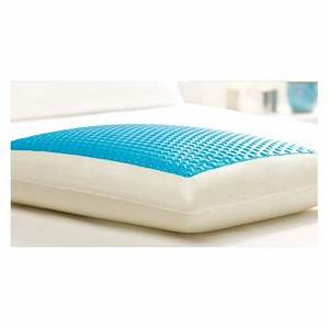 Comfort revolution cerulean bubbles hydraluxe cooling gel for Comfort revolution hydraluxe gel memory foam bed pillow