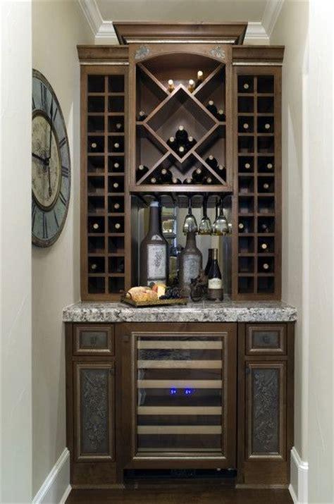 built in wine cabinet small wine bar bar ideas pinterest