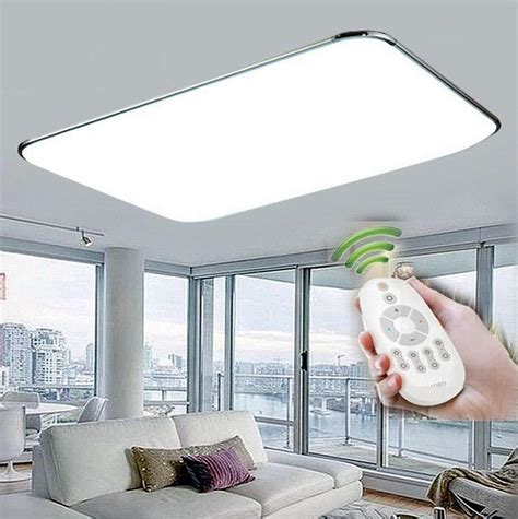 remote control surface mounted modern led ceiling lights