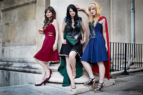 Great Set Of Avengers Style Dresses — Geektyrant