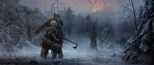 Wallpaper God of War, Artwork, 2018, 4K, Games, #7937