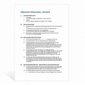 Mietvertrag Gekündigt Mieter Zieht Nicht Aus : muster mietvertrag wohnung ~ Lizthompson.info Haus und Dekorationen