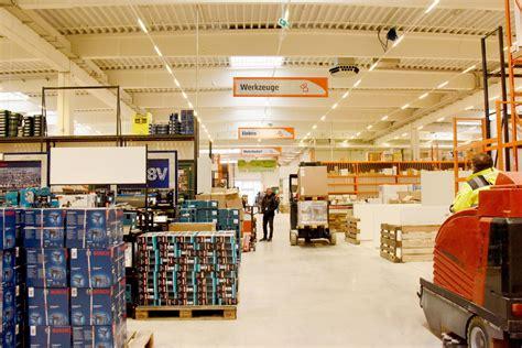 baumaerkte industriegebiet west neueroeffnung das neue
