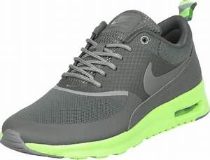 Nike Air Max Thea W shoes grey neon green