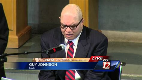 Angelou's Son, Guy Johnson