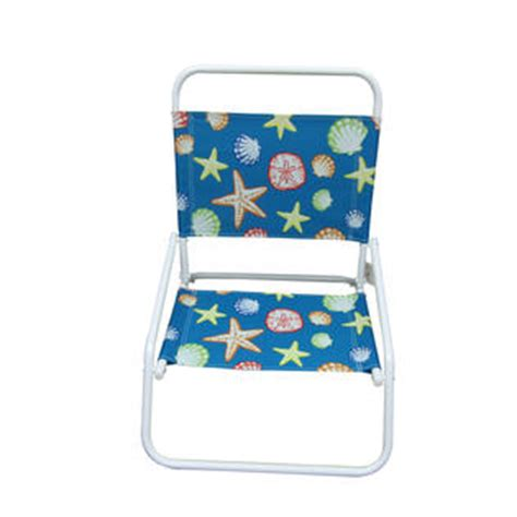 Low Chairs Kmart by Essential Garden Low Back Chair Sea Pattern