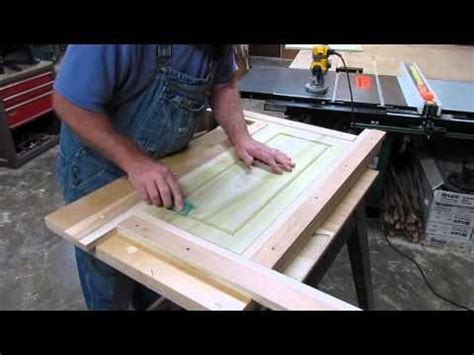 making simple cabinet door router jig   pinterest router jig inset cabinets