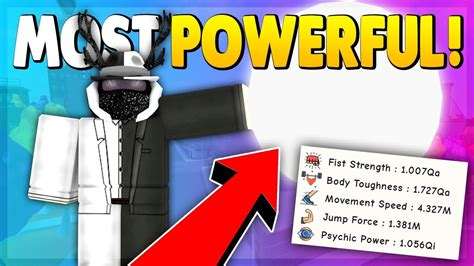 quintilion total power roblox super power training