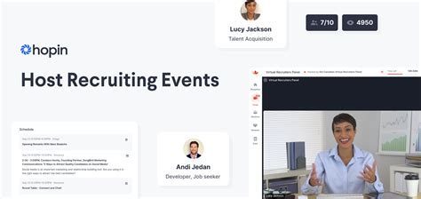 10 Ways to Host Virtual Recruiting Events on Hopin
