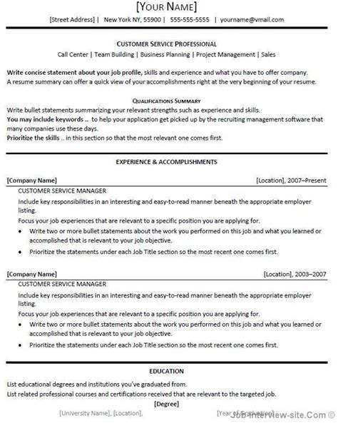 Title Insurance Customer Service Resume by Resume Headline Exles Resume Template 2017