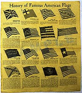history of famous american flags poster t 556 With famous documents in american history