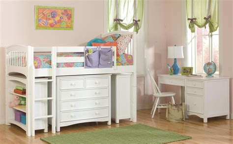 27882 cheap contemporary furniture 220205 ivory wooden bunk bed with study table and bookshelf using
