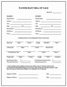 boat partnership agreement template - free printable boat bill of sale form generic
