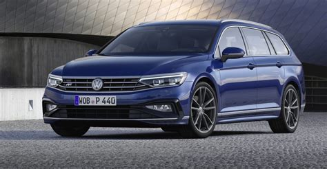 2020 vw passat 2020 volkswagen passat facelift revealed here before year