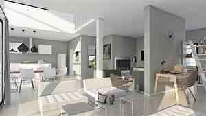construction maison neuve plans conseils bonnes idees With surface d une maison 7 maison bois plain pied type loft nos maisons ossatures