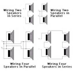 wiring speakers in parallel diagram wiring image similiar series parallel speaker connection keywords on wiring speakers in parallel diagram