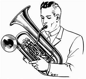 Baritone Horn Drawing | www.pixshark.com - Images ...