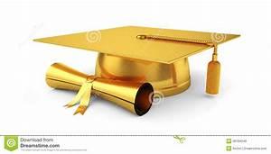 Gold Graduation Cap Clip Art (75+)