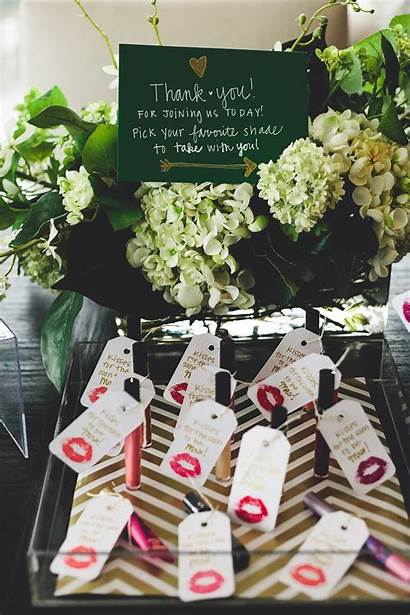 Shower Bridal Favor Things Gold Favorite Party