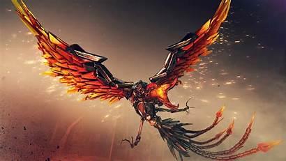 Phoenix Crossfire 5k 4k Wallpapers Fire Bird