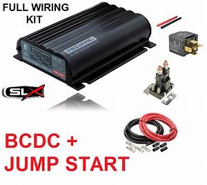 Redarc Bcdc1225lv Dual Battery Isolator System   Wiring