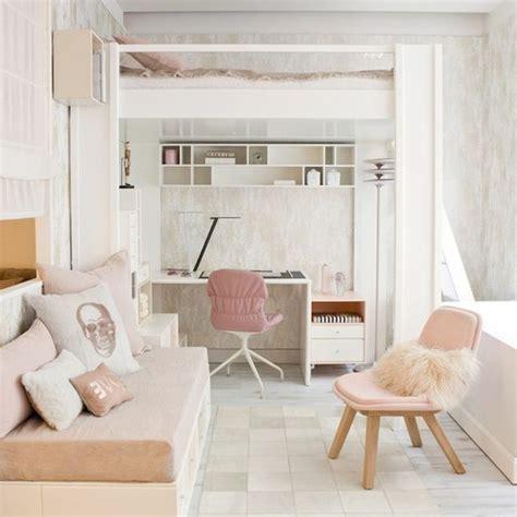 chambre fille beige et 120 idées pour la chambre d ado unique