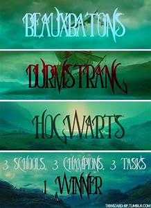 17 Best images about Triwizard Tournament on Pinterest