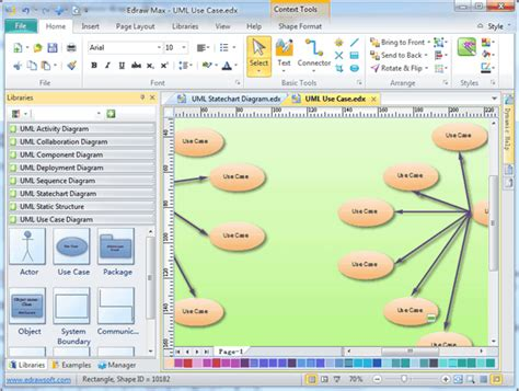 uml  case diagrams  examples  software