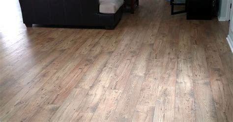 After Mohawk Rare Vintage Laminate in Fawn Chestnut. Feels