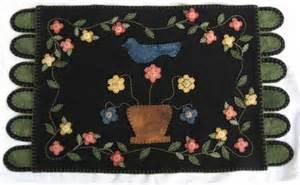 Wool Penny Rug Patterns