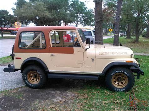 amc jeep amc wrangler cj7 jeep cj7