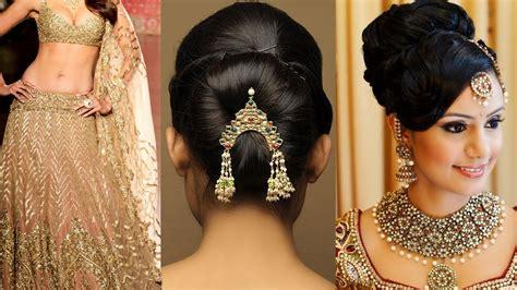 lehenga style saree draping  makeup  hairstyle step