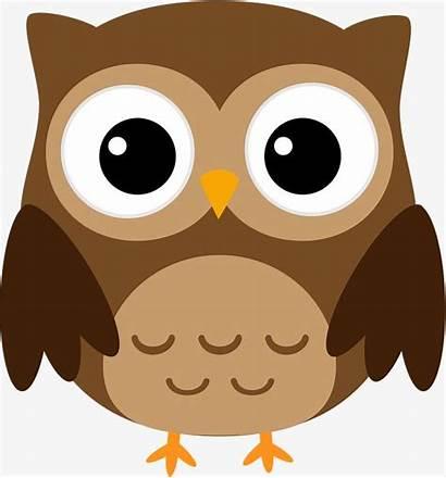 Owl Clipart Brown Transparent Halloween Cartoon Clip