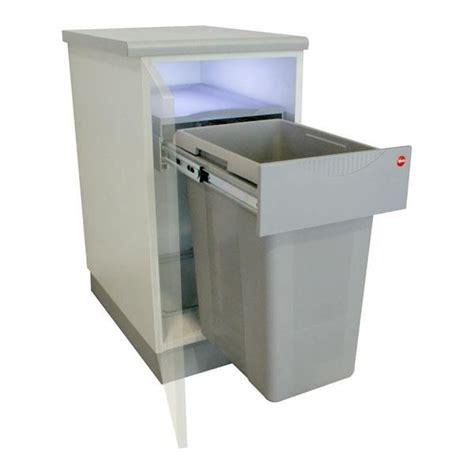 hailo poubelle encastrable cuisine poubelle de cuisine encastrable 1 bac 40 l achat