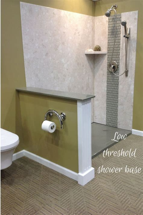 diy shower wall panels   threshold solid surface