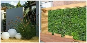 idee brise vue pour jardin meilleures images d With photos terrasses et jardins 18 clatures de jardin en 59 idees captivantes