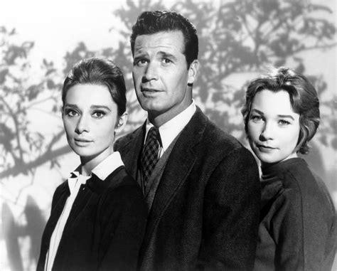 James Garner, Shirley Maclaine, Audrey Hepburn, (infam