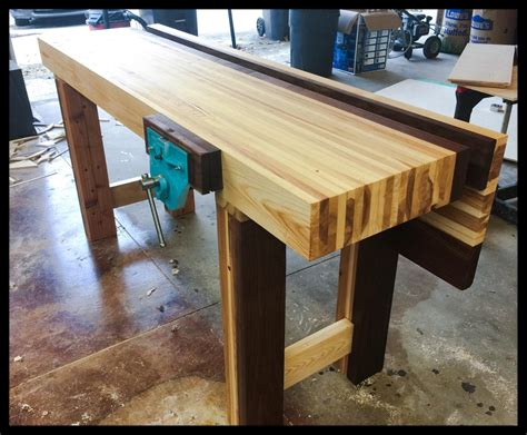 finally finished  bench  paul sellers meets youre