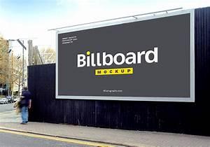 Billboard, Free, Mockup, Set, 8, Psd, Files
