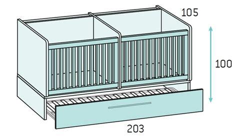 magasin chambre bébé chambre bébé fille avec un lit jumeaux évolutif glicerio