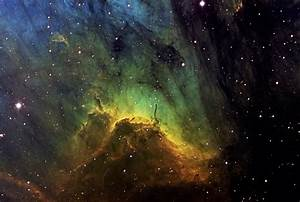 Density of Gas in Eagle Nebula - Pics about space